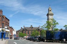 Stoke-on-trent, Tunstall tower square, Staffordshire © www fotodiscs4u co uk